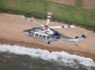 The multirole helicopter AW189 with Liebherr technology on board