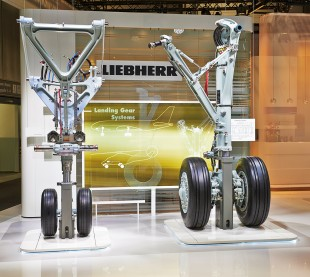 Liebherr-Aerospace has developed and manufactures the landing gear system for the CSeries