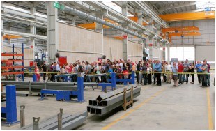 A guided tour of the Liebherr factory at Killarney, Ireland