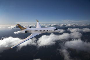 The Global 7000/8000 aircraft will be equipped with systems developed by Liebherr-Aerospace - Image provided courtesy of Bombardier Inc.