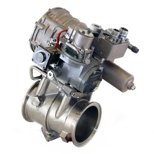 Pressure-regulating shut-off valve that Liebherr-Aerospace developed for the AN-178 prototype