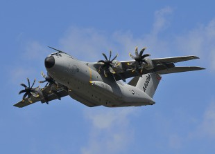 At the ADS Show 2014, Liebherr will showcase components it supplies for the A400M ©Airbus Military