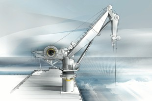 Components for offshore cranes and offshore winches in focus at Liebherr-Components' trade fair stand at the SMM.