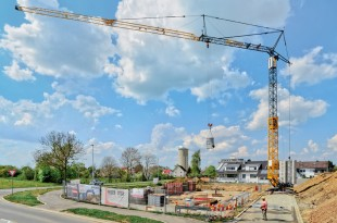 At NordBau 2014, Liebherr is presenting the fast-erecting crane 53 K for the first time at a trade fair in Germany