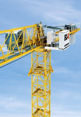 Convincing performance - the new Liebherr 172 EC-B 8 Litronic Flat-Top crane