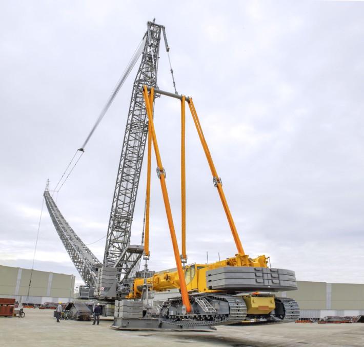 New erection concept for Liebherr LR 1600/2 crawler crane
