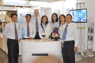 The Liebherr-Aerospace Team is looking forward to welcoming guests at the Liebherr-Aerospace stand at MRO Asia