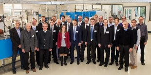 Theparticipants of the prestigious Ludwig-Prandtl-Ring meeting 2014 spent two insightful days at Liebherr-Aerospace in Lindenberg (Germany).