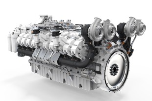 The D9620 diesel engine forms the basis of the planned G9620 gas engine with a mechanical output of up to 1 MW.