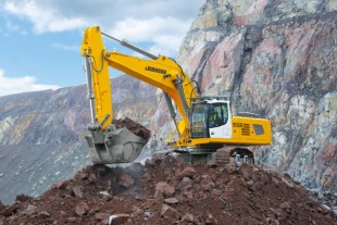 Two different product recognitions for the R 956 Crawler Excavator