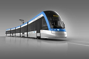 Liebherr equips the Metrolinx tramways developed by Bombardier with its leveling technology