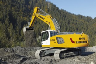 The new R 946 crawler excavator from Liebherr meets stage IV/ Tier 4f emissions standards