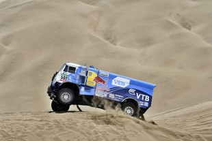 Racing engines from Liebherr afforded the Kamaz trucks even greater reliability and higher dynamics during the Dakar Rally 2015.