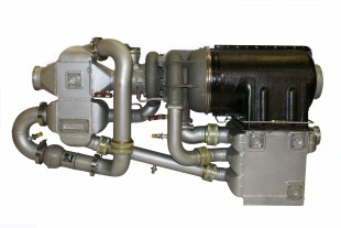 The air conditioning pack is part of the integrated air management system developed and manufactured by Liebherr-Aerospace for the Sukhoi SuperJet 100