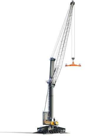 The LHM 800 is the new mobile cargo handling solution for challenging tasks.