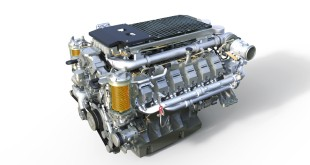 The new 12-cylinder Liebherr stage IV / Tier 4 final diesel engine.