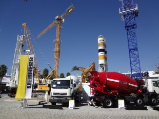 Present since the first Fair was held, Liebherr is taking part in M&T Expo 2015.