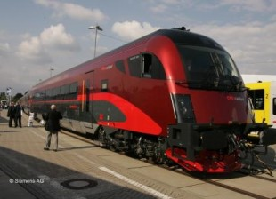 ÖBB railjet from Siemens