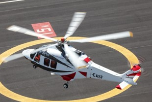 The AW169 is equiped with technology from Liebherr-Aerospace