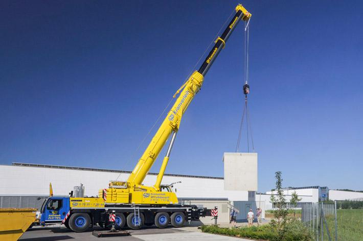Fair and reliable – ESB Kranverleih purchases Liebherr LTM