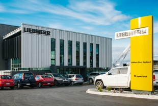 New Liebherr New Zealand premises in East Tamaki