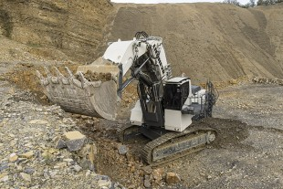Liebherr sets a benchmark in terms of reliability and cost efficiency with the R 9150 mining excavator.