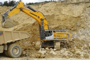 "The ""SME"" crawler excavators from Liebherr are specially developed for quarrying operations."