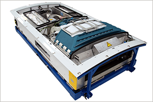 Air cycle air conditioning unit from Liebherr for the ICE 3.1 Re-Design Program