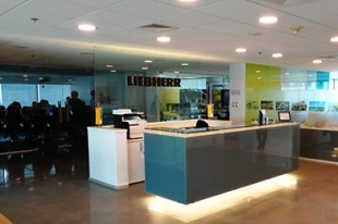 The new offices of Liebherr Chile SpA