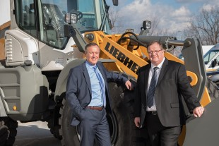 Paul Robson and Tim Petersen, Managing Directors of Liebherr-Canada Ltd.