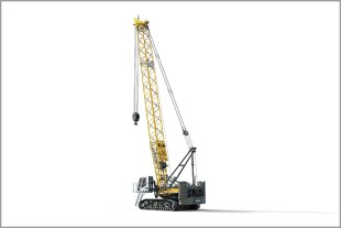 The new Liebherr crawler crane LR 1100 convinces with its innovative design and high customer benefit