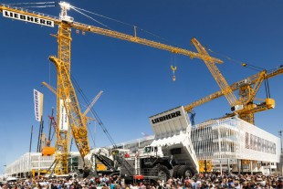 Liebherr at the Bauma in Munich, Germany (2013)
