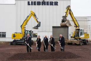Groundbreaking ceremony in Ettlingen (Germany)