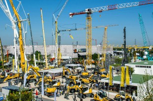 Liebherr at the Intermat 2015