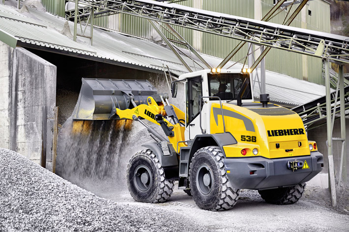 Concrete Plant Loader : Liebherr s l wheel loader to be featured at the