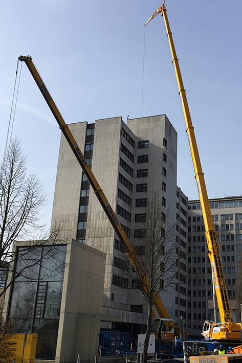 Mobile Crane Explained : Regel takes delivery of second liebherr ltm