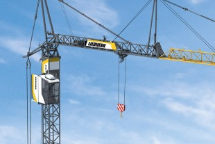 The Liebherr 81 K.1 fast-erecting crane is even more flexible and powerful than its predecessor.