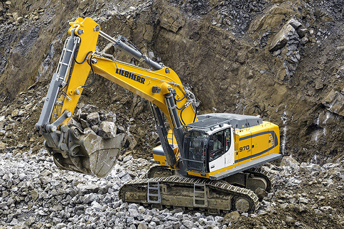 Earthmoving equipment, deep-foundation machines and mobile cranes at