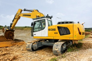 Increased productivity: The new Liebherr crawler excavator R 936 is optimised for applications in the earthmoving area