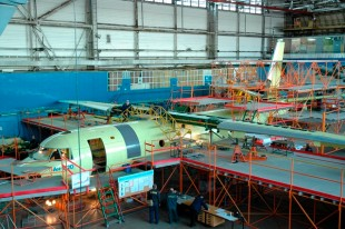 Assembly of the AN-132D