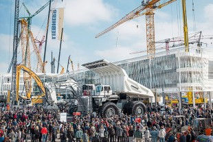 Liebherr at the 2016 Bauma in Munich (Germany)