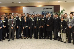 Participants of the last Regional Technical Workshop at Liebherr-Aerospace in Toulouse (France)