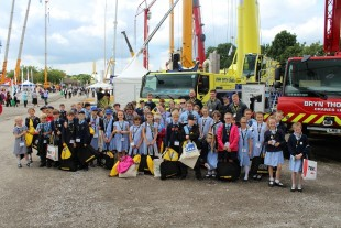 At this year's Vertikal Days, Liebherr-GB sponsored a two-day event for charity 'My Future My Choice' for the second consecutive year working with pupils from two schools.