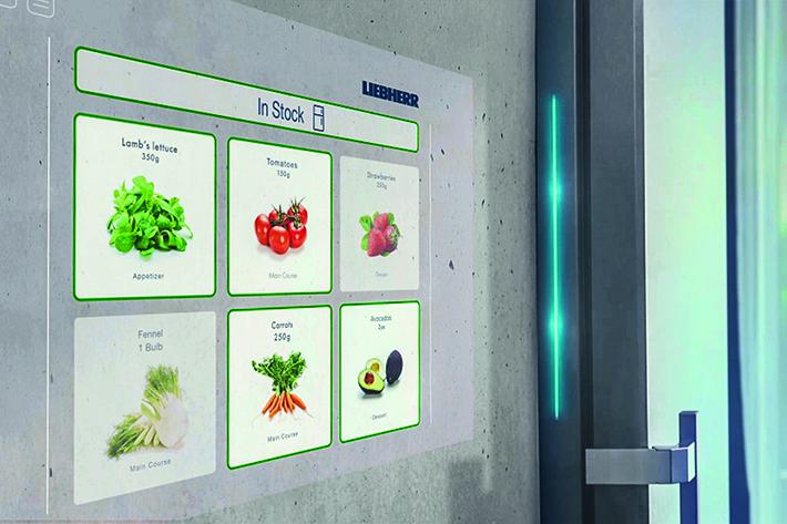 Liebherr presents the intelligent refrigerator of tomorrow - Liebherr