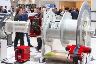 At SMM 2016, Liebherr presents a winch system for applications in the maritime sector.