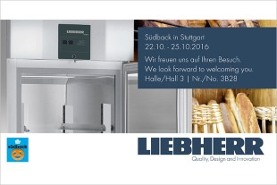 Liebherr is looking forward to your visit at stand 3B28 in hall 3.