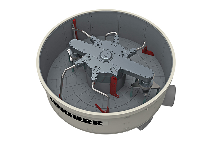 New Ring-pan Mixer for Highest Concrete Qualities - Liebherr