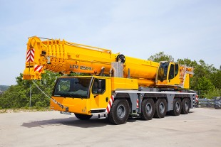 The Liebherr mobile crane LTM 1250-5.1 which is on display at Bauma Conexpo India 2016 is engineered for maximum lifting performance.