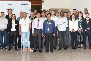 Attendees at Liebherr-Aerospace's Technical Workshop 2016