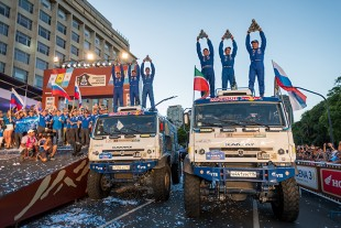 KAMAZ Master – the winners of Dakar 2017